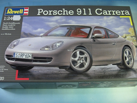 revell porsche 911 carrera neu ovp 07320. Black Bedroom Furniture Sets. Home Design Ideas