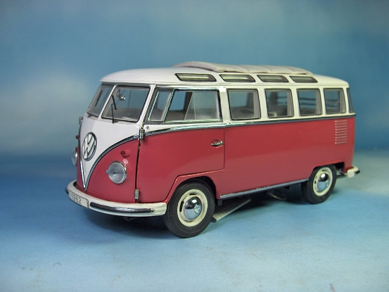 franklin mint vw t1 samba bus neu ebay. Black Bedroom Furniture Sets. Home Design Ideas